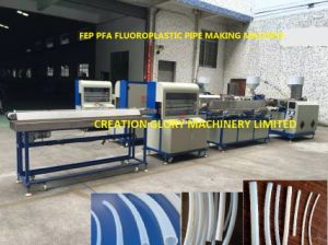 High Precision FEP PFA Tubing Plastic Extruding Producing Machinery pictures & photos