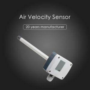 4-20mA Air Velocity Sensor with Measuring Range 0-1m/S