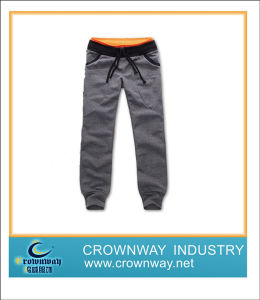 Boy′s Ankle Banded Pant with Contrast Waistband, Sweatpant pictures & photos