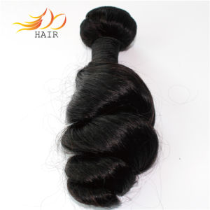 Wholesale Virgin Hair Indian Loose Wave Human Hair Wefts pictures & photos