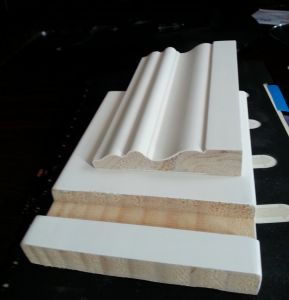 Primed Finger Jointed Radiata Pine Door Frame pictures & photos
