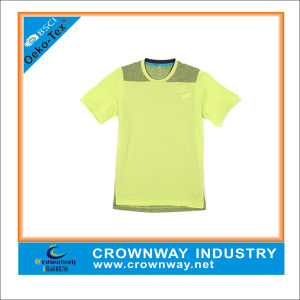 100% Polyester Single Jersey Mens T Shirts pictures & photos