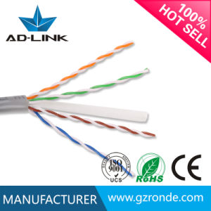 China Grey Color Coding Plenum Cat5e CAT6 UTP STP Cable Types