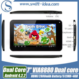7inch Rk3128 Quad Core 1.3GHz 1GB+8GB Dual Camera Android Tablet PC with HDMI (PRE735S)