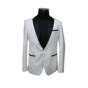 China White Wedding Suits for Groom in Slim Fit Cutting - China Men ...