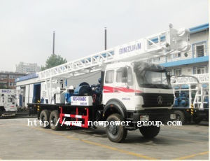 Truck Mounted Water Well Drilling Rig (BZC400ABC)