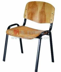 Comfortable and Durable Student Armrest Chair, Wooden Chair pictures & photos