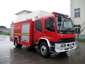 ISUZU Foam /Water Tank Fire Vehicle