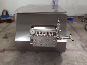 Food Sanitary Stainless Steel 4000L/H Ice Cream Homogeniser pictures & photos