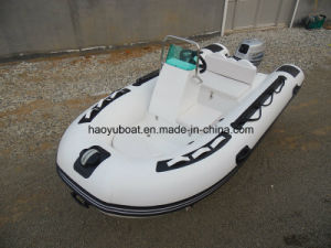 Made in china small cheap rib boat inflatable fishing for Inflatable fishing boats for sale