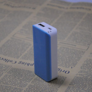 3000mAh Portable Power Bank 5V DC 1A Input