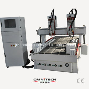 1325 with Multi-Heads and Rotary CNC Router Machine