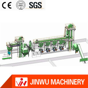 Competitive Price CE Horizontal Ring Die Pellet Machine Line
