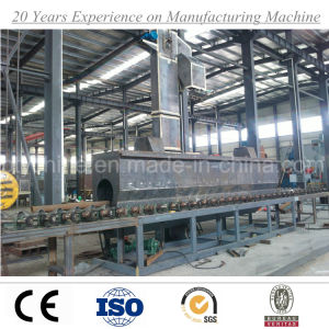 Manufacturer Steel Pipe Shot Blasting Descaling Equipment Cleaning Abrator Machine