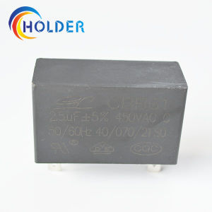 Metallized Polypropylene Film AC Motor Capacitor (CBB61 2.5UF/450V) for Electrical Equipment