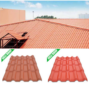 Anti UV PVC House Roof Tile pictures & photos