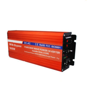 500W Pure Sine Wave Inverter with Switch