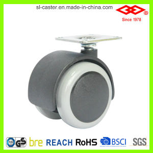 Rubber Wheel Furniture Caster (P551-34B040X38D) pictures & photos