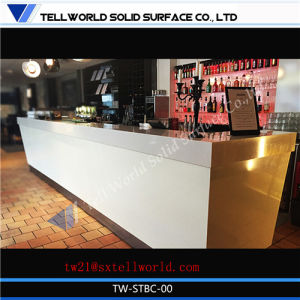 150 Kinds Design of Cusotm Restaurant Long Ready Made Bar Counter Faux Marble Bar Counter pictures & photos