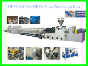 UPVC CPVC Mpvc Pipe Production Line with CE pictures & photos
