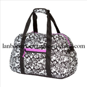 Polyester Promotion Handle Duffl Bags