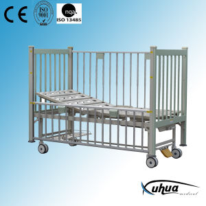Pediatric Bed, Single Crank Manual Hospital Child Bed (D-10) pictures & photos