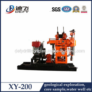 200m Depth Water Well Rotary Drilling Rig pictures & photos