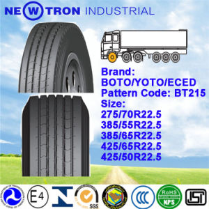Boto Truck Tyre 435/50r22.5, Long Haul Steer Trailer Tyre