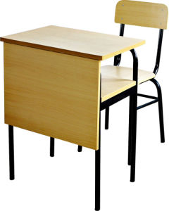 China JiemingXS 03 Ergonomic Single Wood Student Desk And Chair Set   China  Ergonomic Single Wood Student Desk And, Single Student Desk And Chair