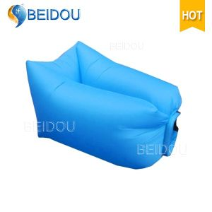 Pleasant Nylon Inflatable Sleeping Bag Bean Bag Chairs Bulk For Sale Squirreltailoven Fun Painted Chair Ideas Images Squirreltailovenorg