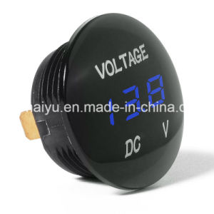 12V-24V Car Motorcycle LED Digital Display DC Voltmeter Socket Waterproof pictures & photos