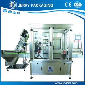 Factory Supply Automatic Continuous Bottle & Jar & Keg Screwing Capping Machine pictures & photos