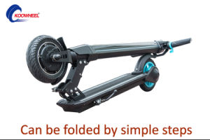 China Wholesale Folding Electric Scooter Carbon Fiber Electrical Scooter pictures & photos