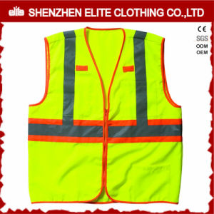 En471 High Visibility Warning Reflective Traffic Safety Vest pictures & photos