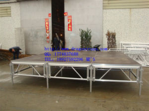 Decorated Lighted Wedding Stage (MS01B) pictures & photos