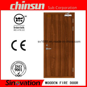 Wooden Fire Door with BS Certificate pictures & photos