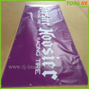 Tri Vision Signboard Hang up Vinyl Banner Outdoor Pomtions Flag Banner pictures & photos