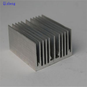 Heatsink, CNC Machining, Black Anodized, Custom Make