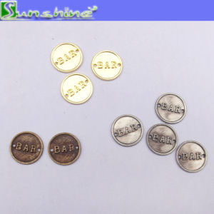 Garment Accessories Metal Plated Logo Label pictures & photos