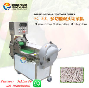 FC-301 Multiple Blades Vegetable Cutting Machine -- Best Choice for Central Kitchen Industry!