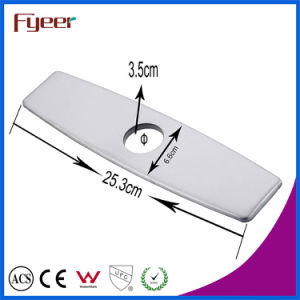 Solid Stainless Steel Baseplate Base of Bathroom Faucet kitchen Water Tap High Quality Baseboard pictures & photos