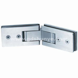 Stainless Steel Shower Door Hinge Bathroom Accessories Glass Clamp (SH-0120) pictures & photos