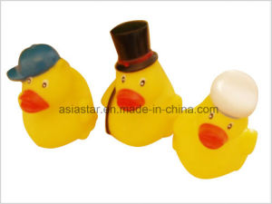 Yellow Vinyl Hats Toy Duck pictures & photos