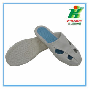 ESD PVC Slipper (LH-127-2) , Factory Offer Antistatic Working Shoe/Slipper of Linkworld pictures & photos