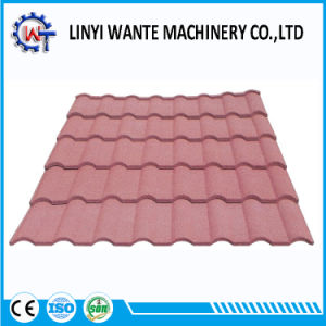 Long Service Life Stone Coated Metal Milano Roof Tile pictures & photos