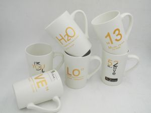 Valentine′s Day Custom Straight Decal Ceramic Mug pictures & photos