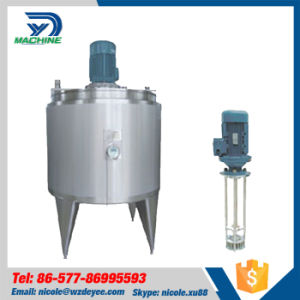 Sanitary Ss304 Milk Jacket Tank