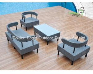 Simple Design Rattan Furniture Sofa Set