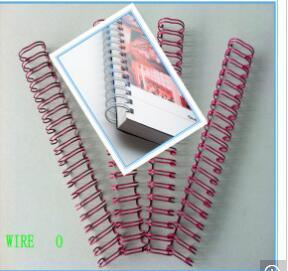 Nylon Coated Book Binding Spiral Steel Wire pictures & photos