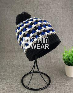 abc779651ebde Fashion Acrylic Handmade Winter Hats Beanie Custom Knitted Beanie Hat
